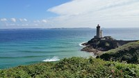 lighthouse peninsula brittany hiking holiday France
